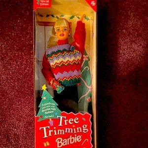 90s Tree Trimming Barbie